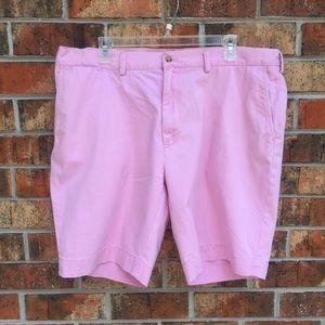 Men's pink classic fit Polo Ralph Lauren shorts